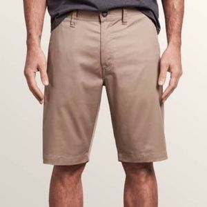 Volcom Men's Khaki Shorts